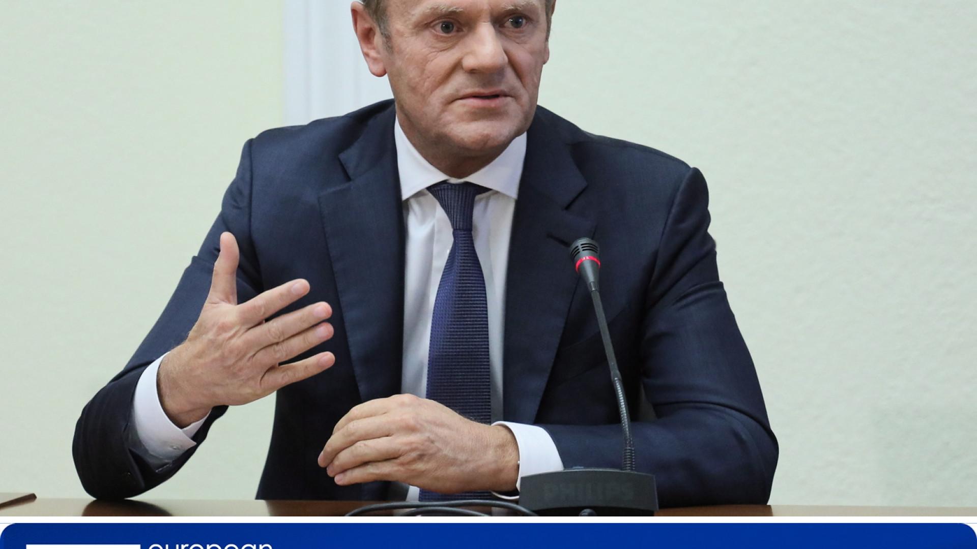 Tusk prevê Conselho Europeu a 25 de novembro para formalizar acordo