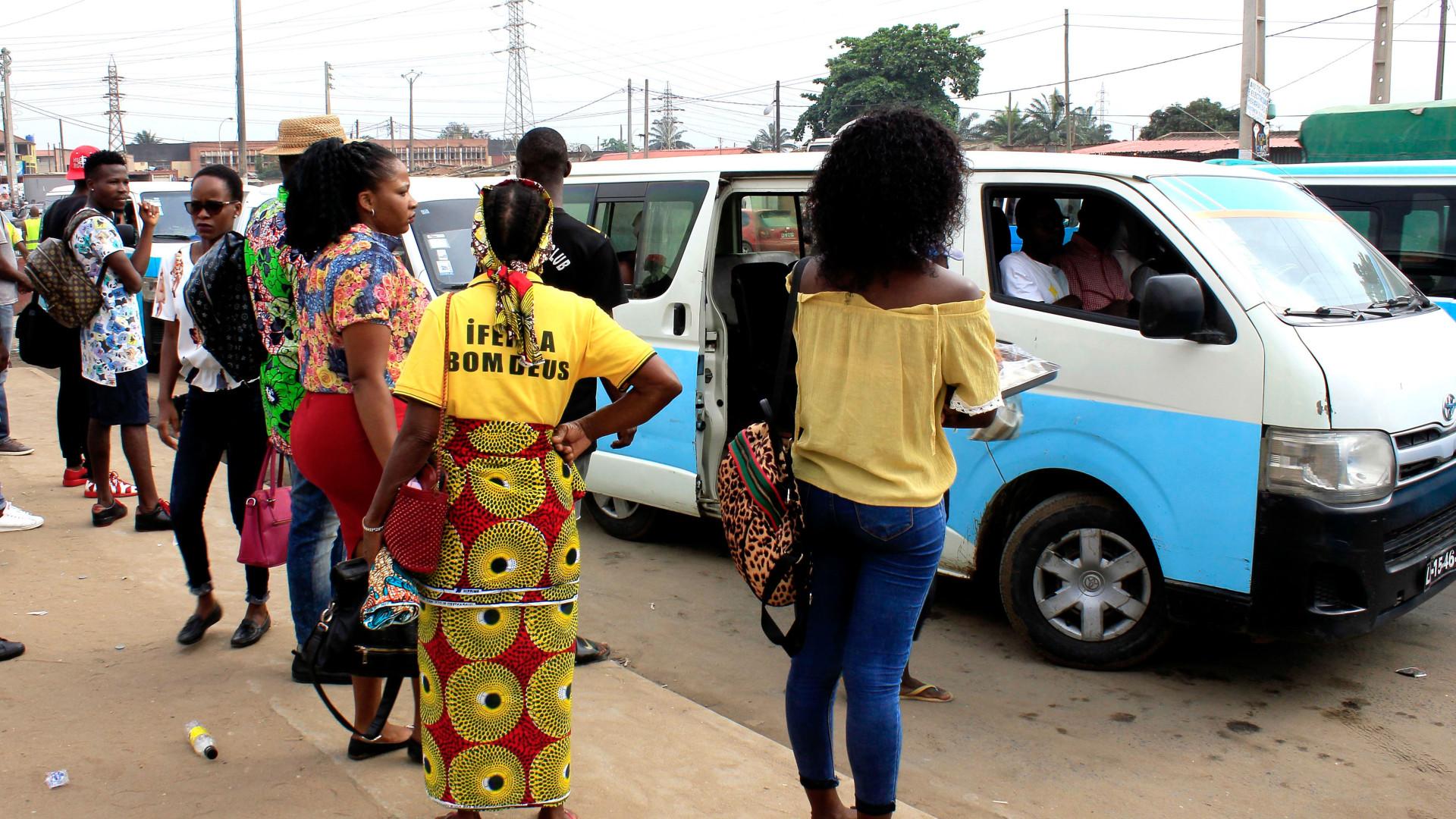 'Operação Resgate' encarece serviços em Luanda e afasta vários taxistas