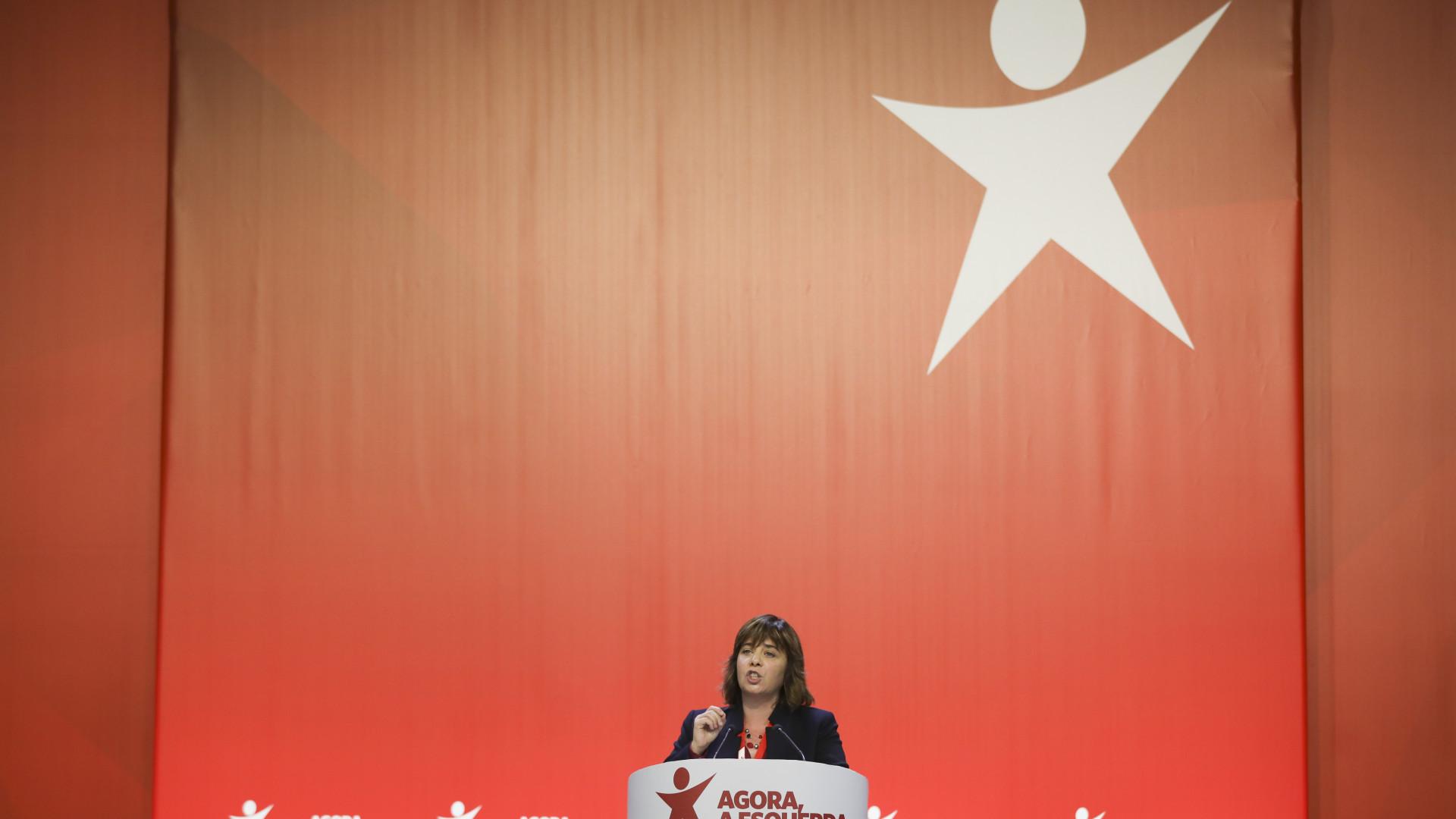 Catarina Martins encabeça lista de continuidade à Mesa Nacional do Bloco