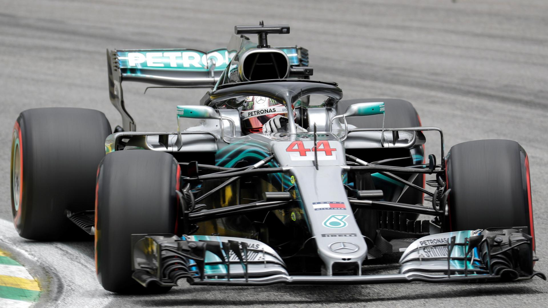 Hamilton conquistou a décima pole position da temporada o GP do Brasil