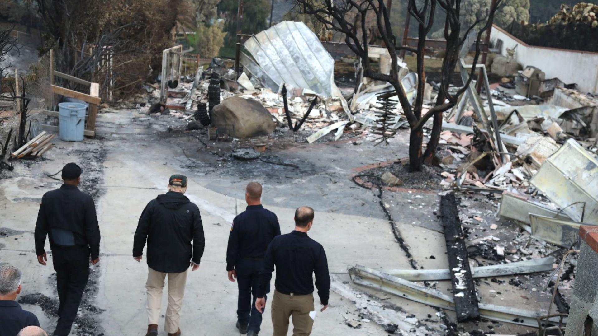Novo balanço aponta para pelo menos 76 mortos em incêndio na Califórnia