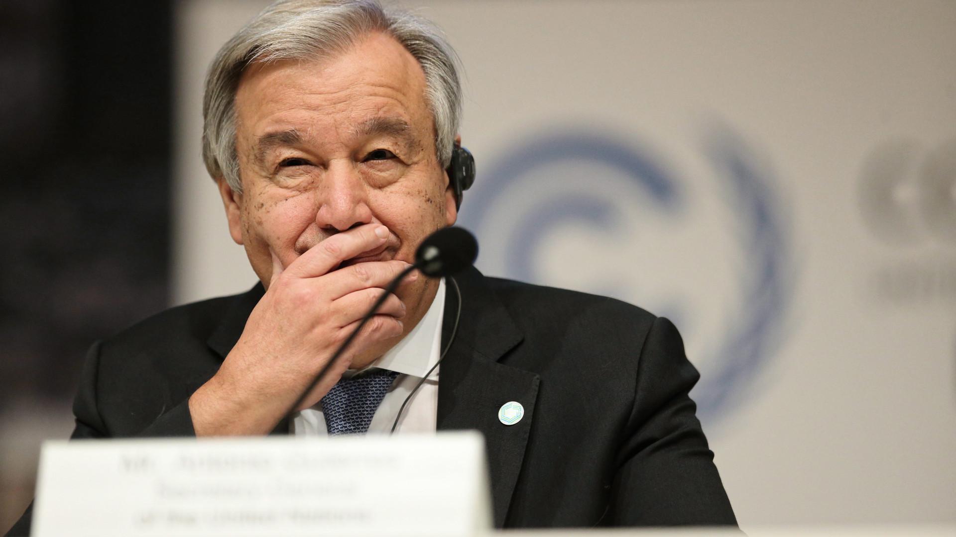 """Guterres apela à assinatura """"sem demora"""" da Convenção contra o genocídio"""