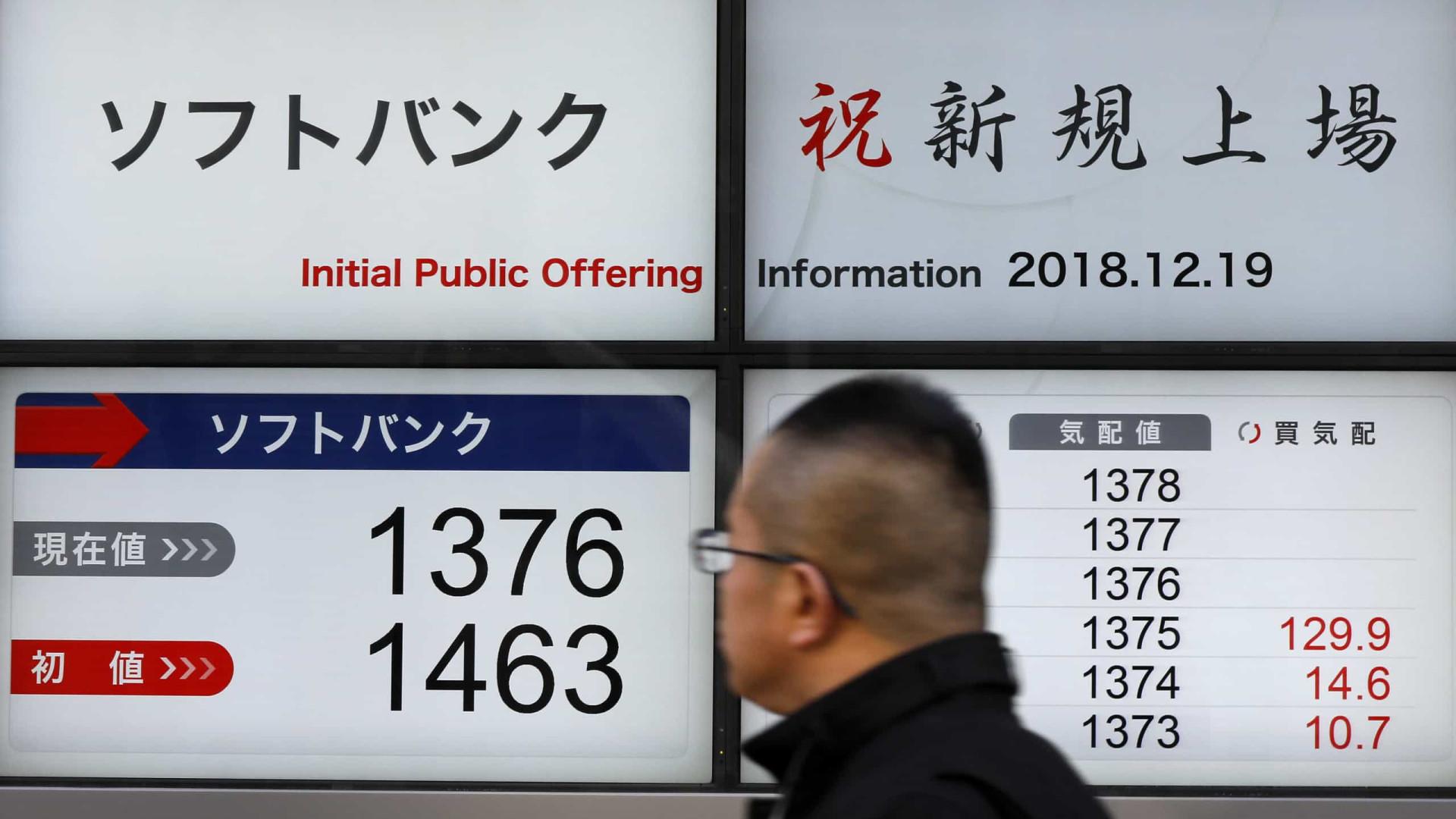 Bolsa de Tóquio fecha a perder 0,02%