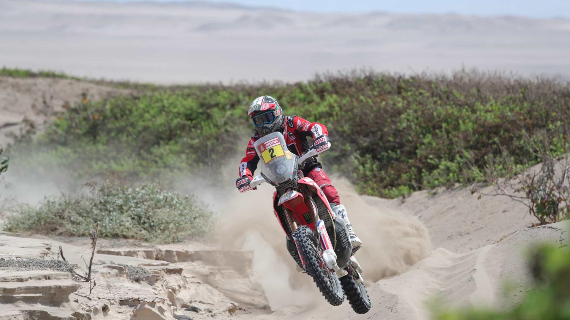 Paulo Gonçalves sobe mais uma posição nas motas