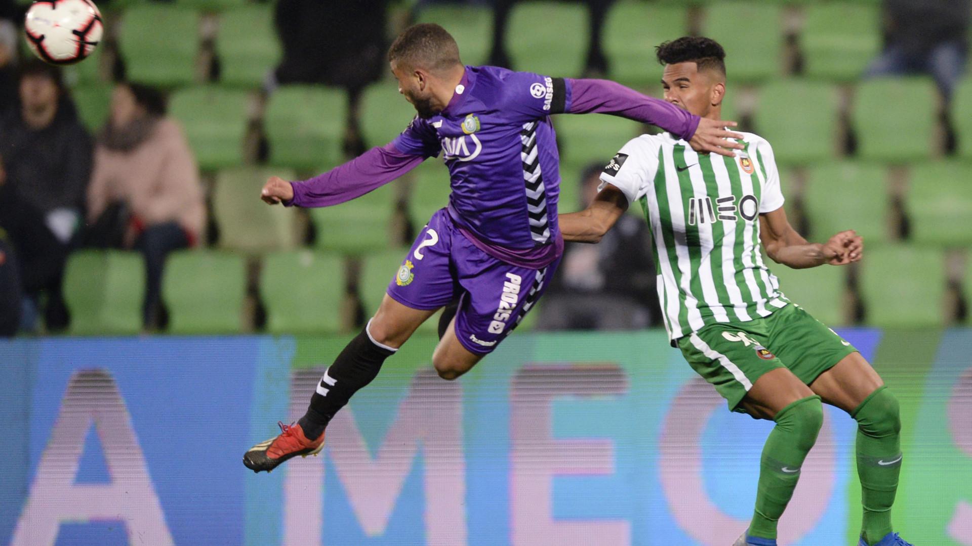 Rio Ave e Vitória de Setúbal encerram primeira volta com um empate