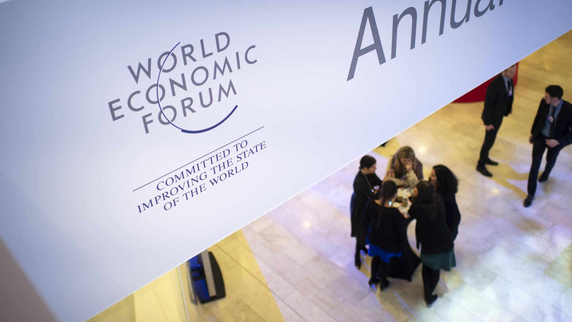 Fórum Económico arranca hoje sem líderes dos EUA, França e Reino Unido