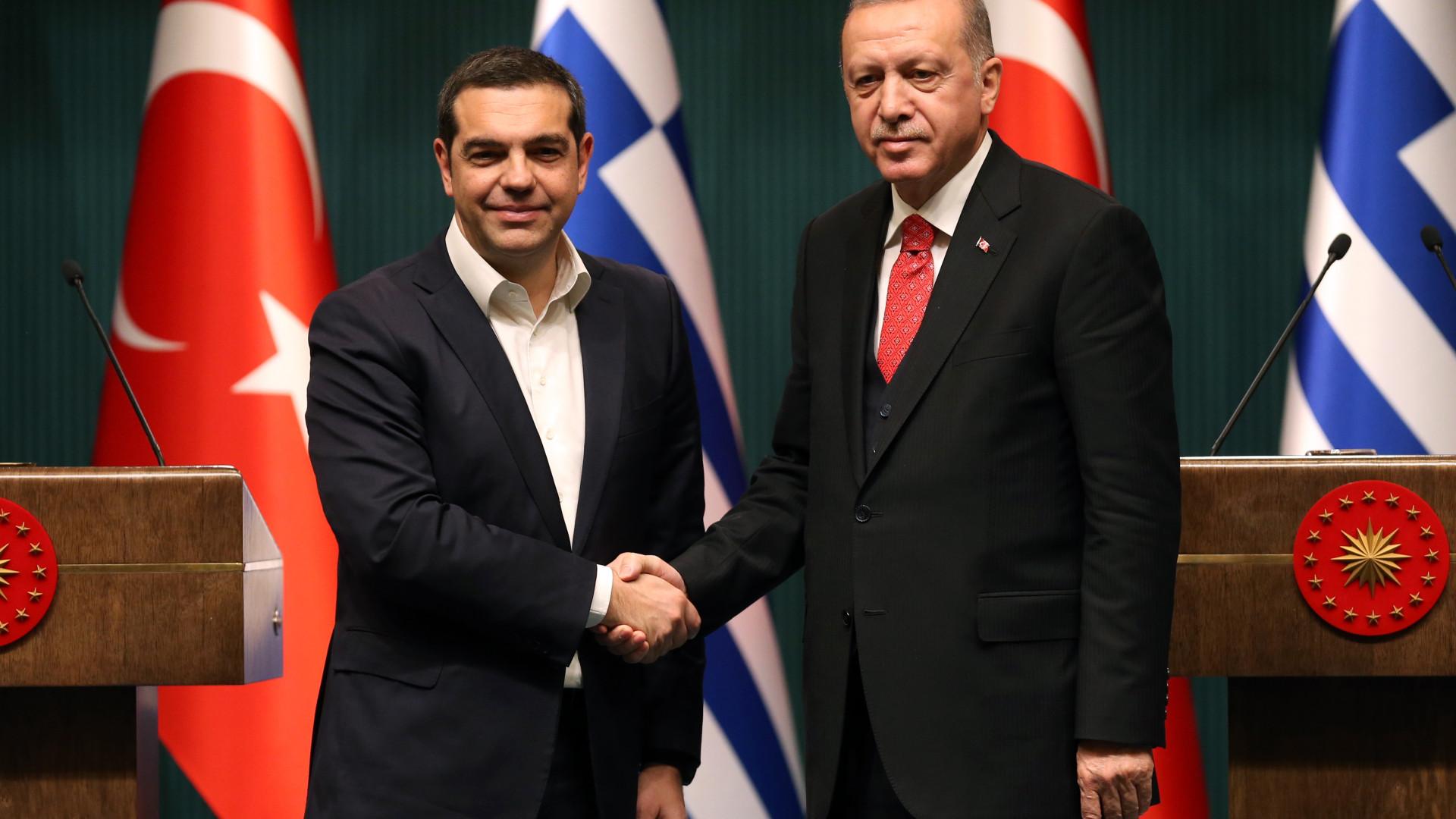 Presidentes da Turquia e Grécia desejam manter diálogo d6845f28a42f3
