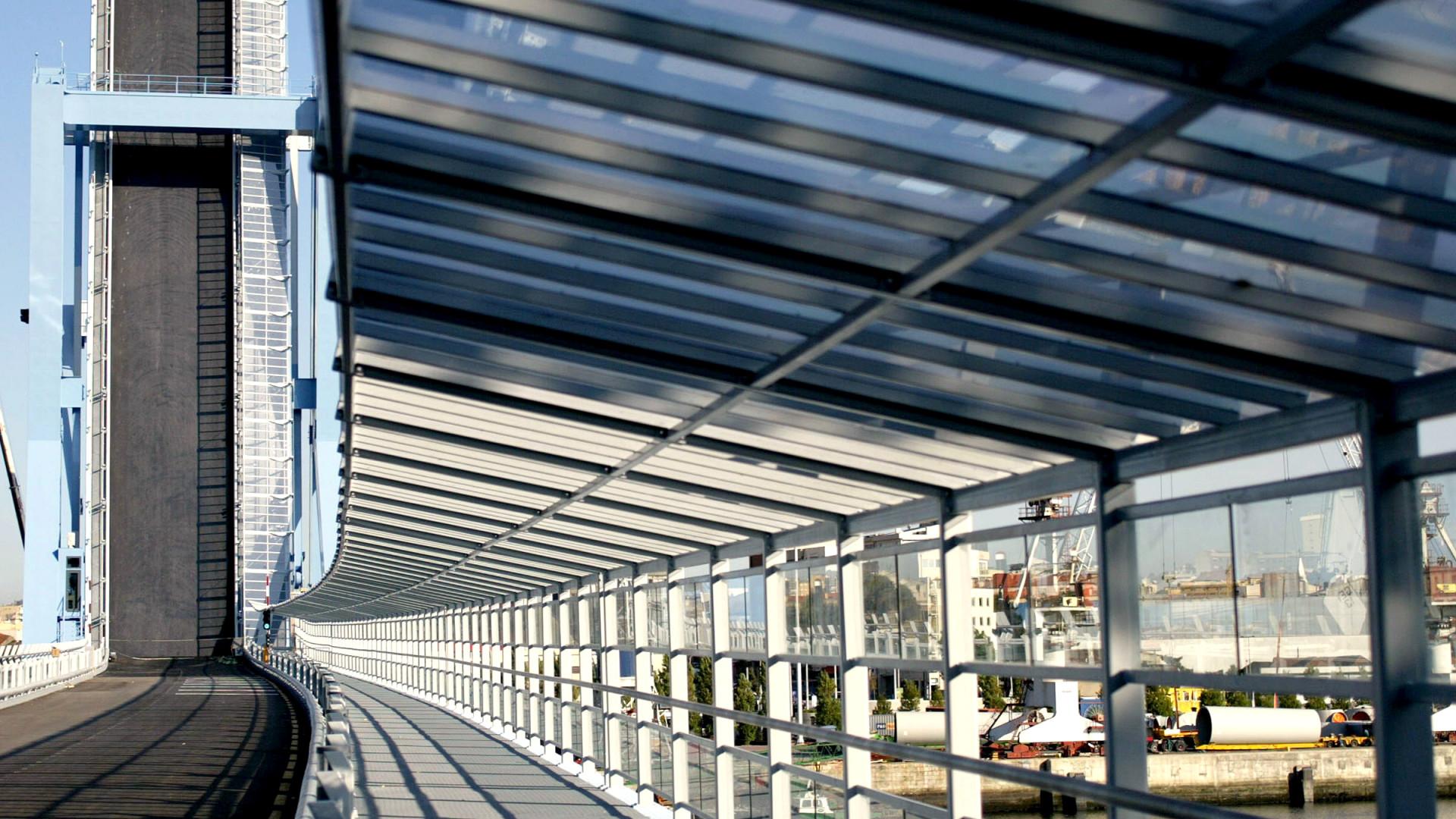 Matosinhos: Reparação da ponte móvel depende de condições meteorológicas