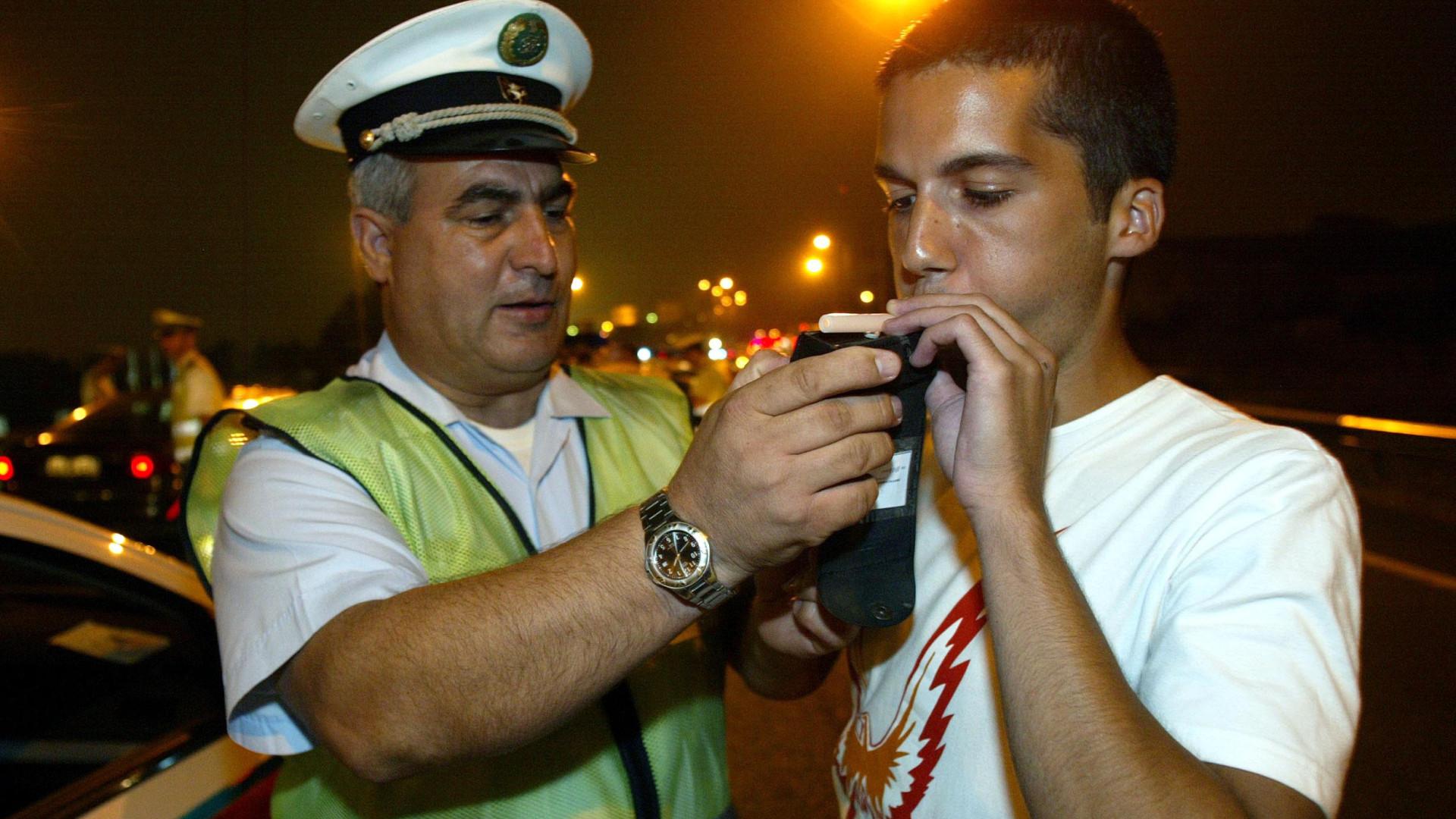 Condutores jovens cada vez com mais excesso de álcool no sangue