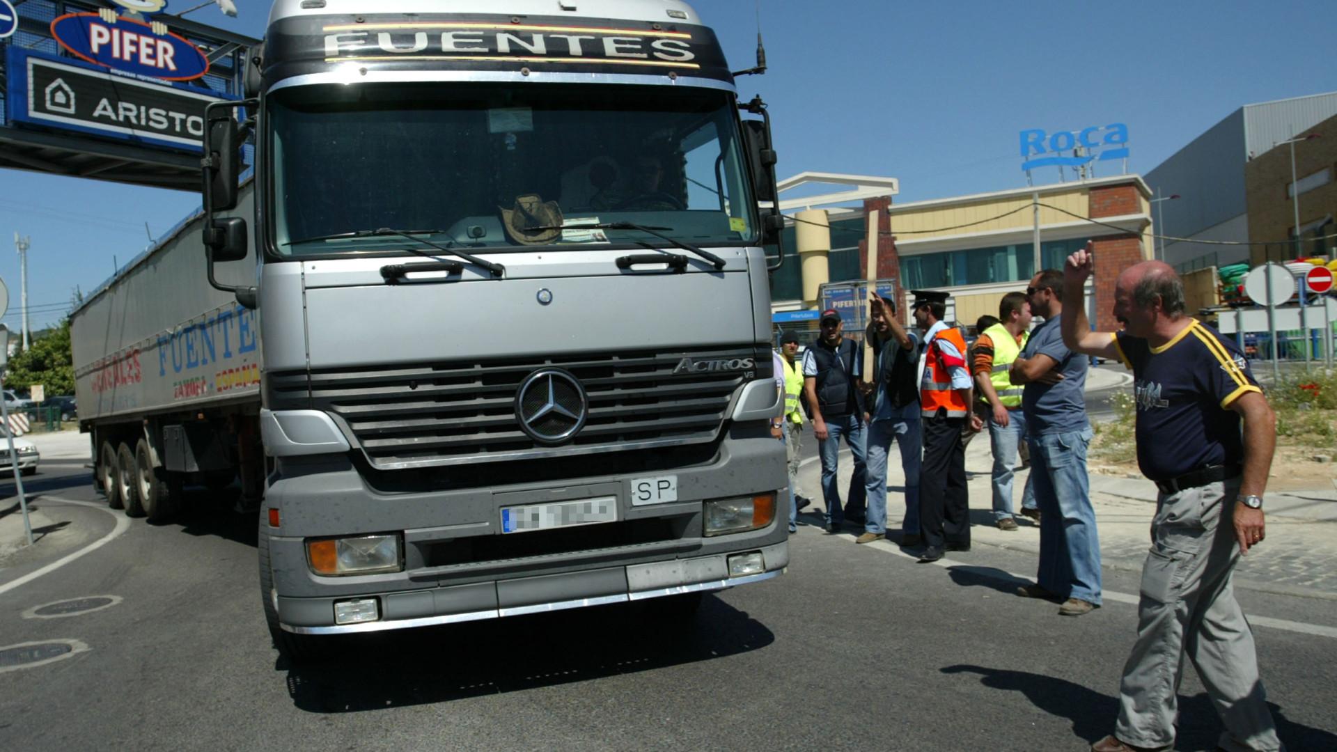 Transportadores reúnem-se em Pombal depois de negociações falhadas