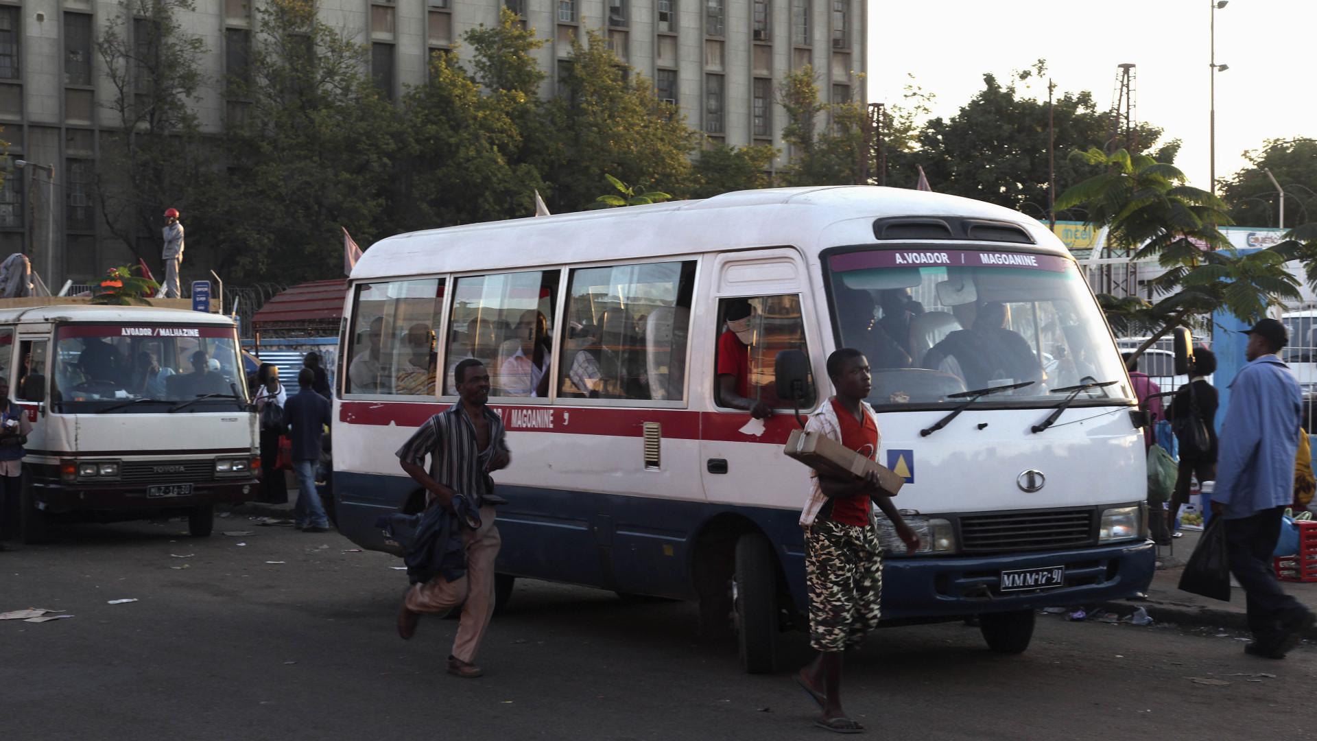 Moçambique aumenta fiscalização a transportes coletivos em época festiva