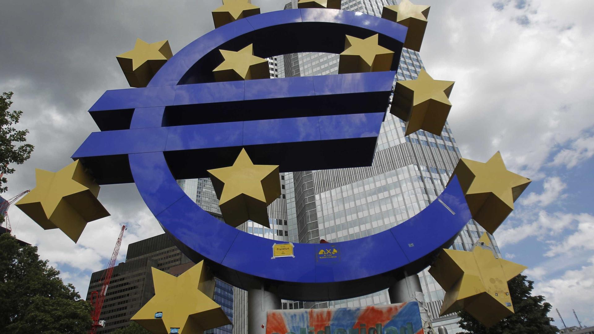 Taxas Euribor caem a 9 meses e mantêm-se a 3, 6 e 12 meses