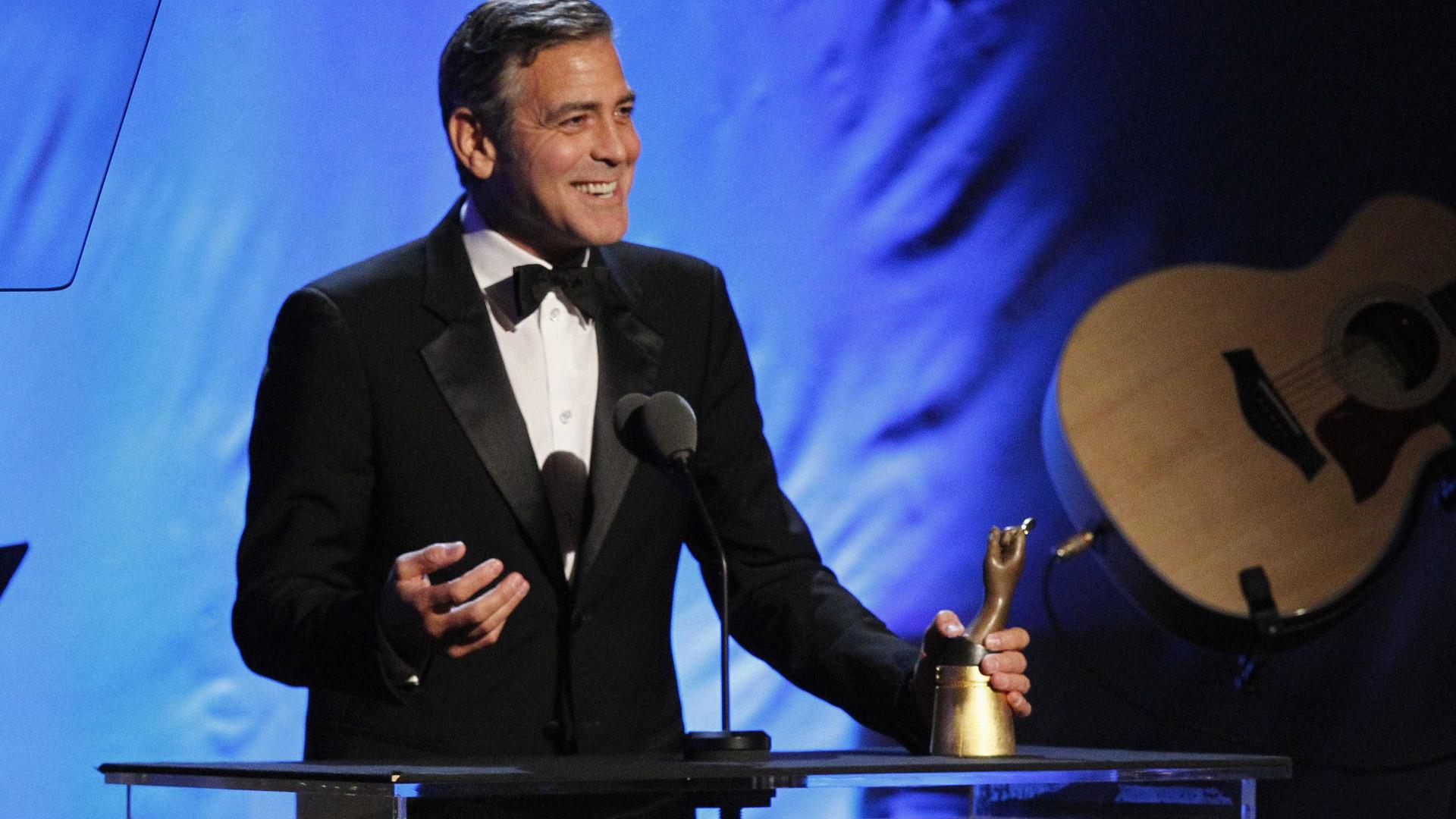 George Clooney para Presidente e Amal para primeira-dama?