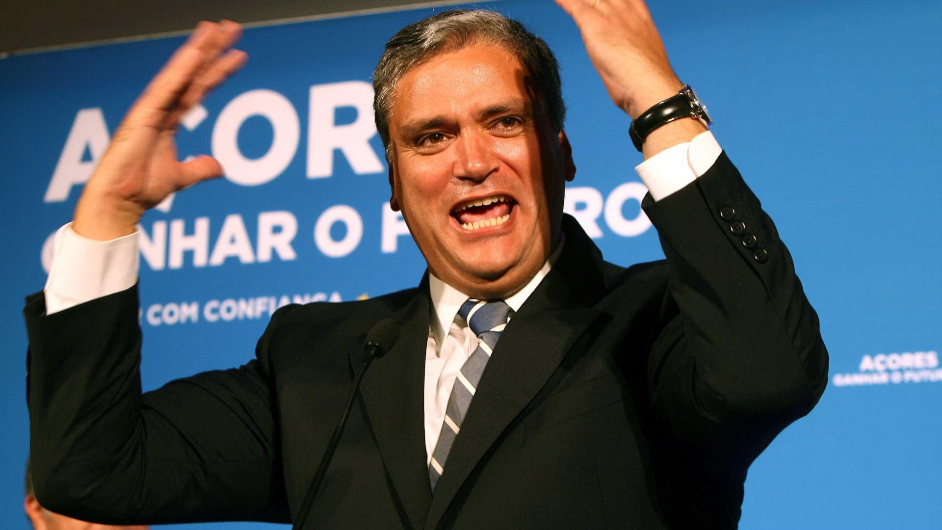 """Vasco Cordeiro diz que orçamento """"é bom"""" para os Açores"""