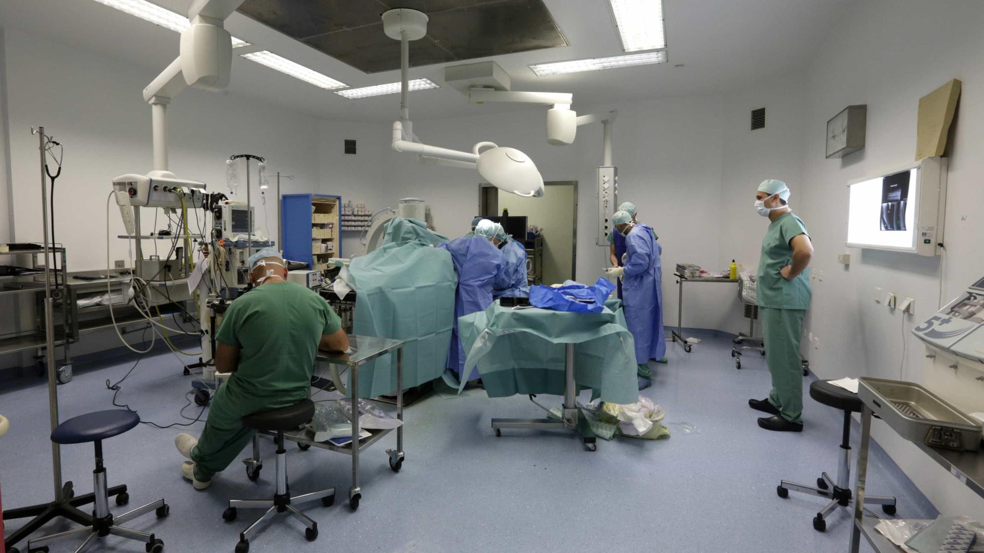 Blocos operatórios custam entre sete e 12 euros por minuto
