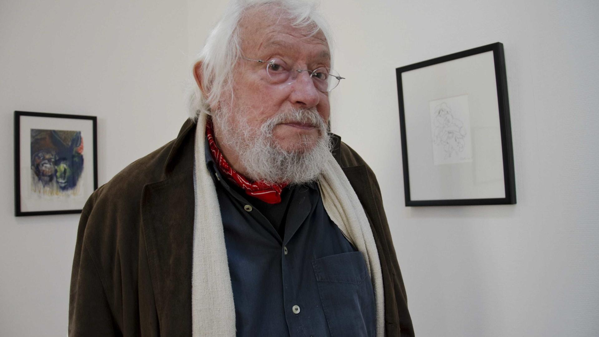 Morreu o artista plástico Júlio Pomar