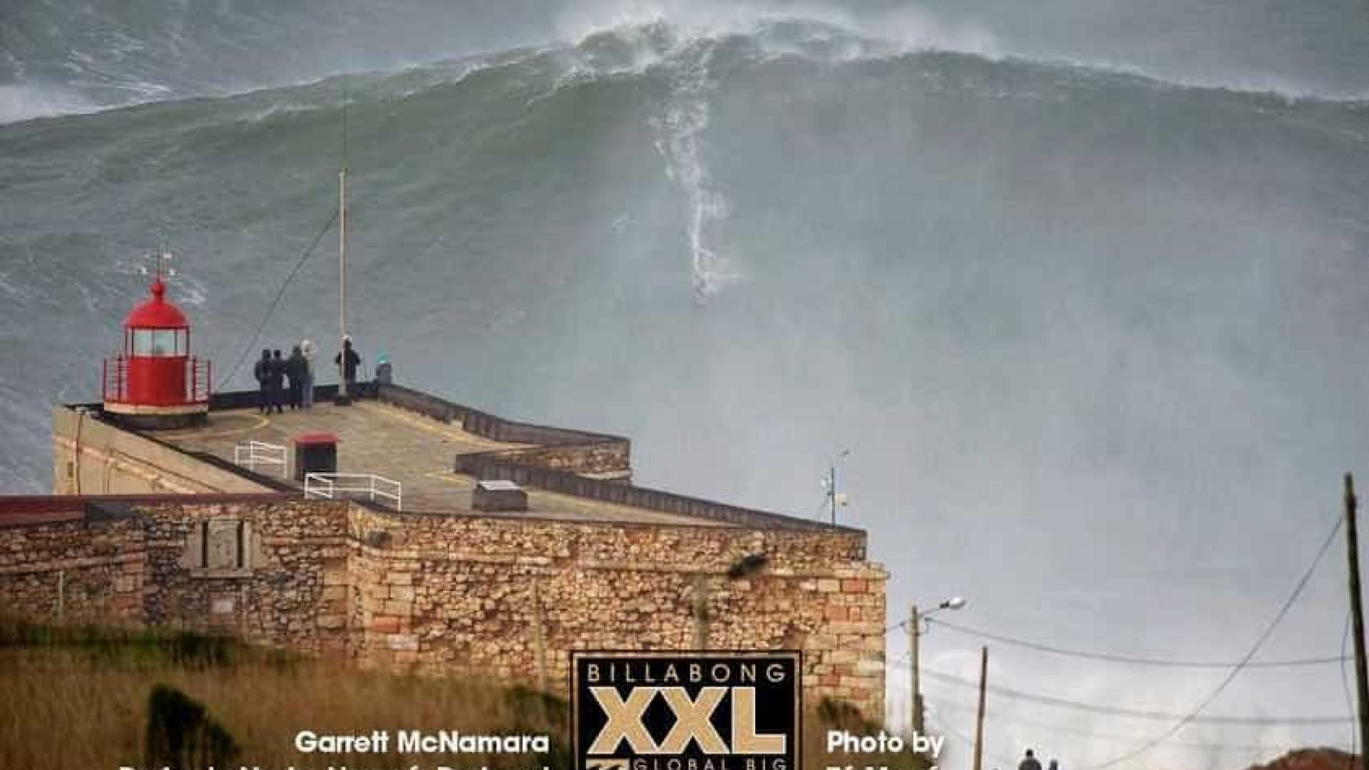 Nova imagem de McNamara põe Nazaré nas bocas do mundo