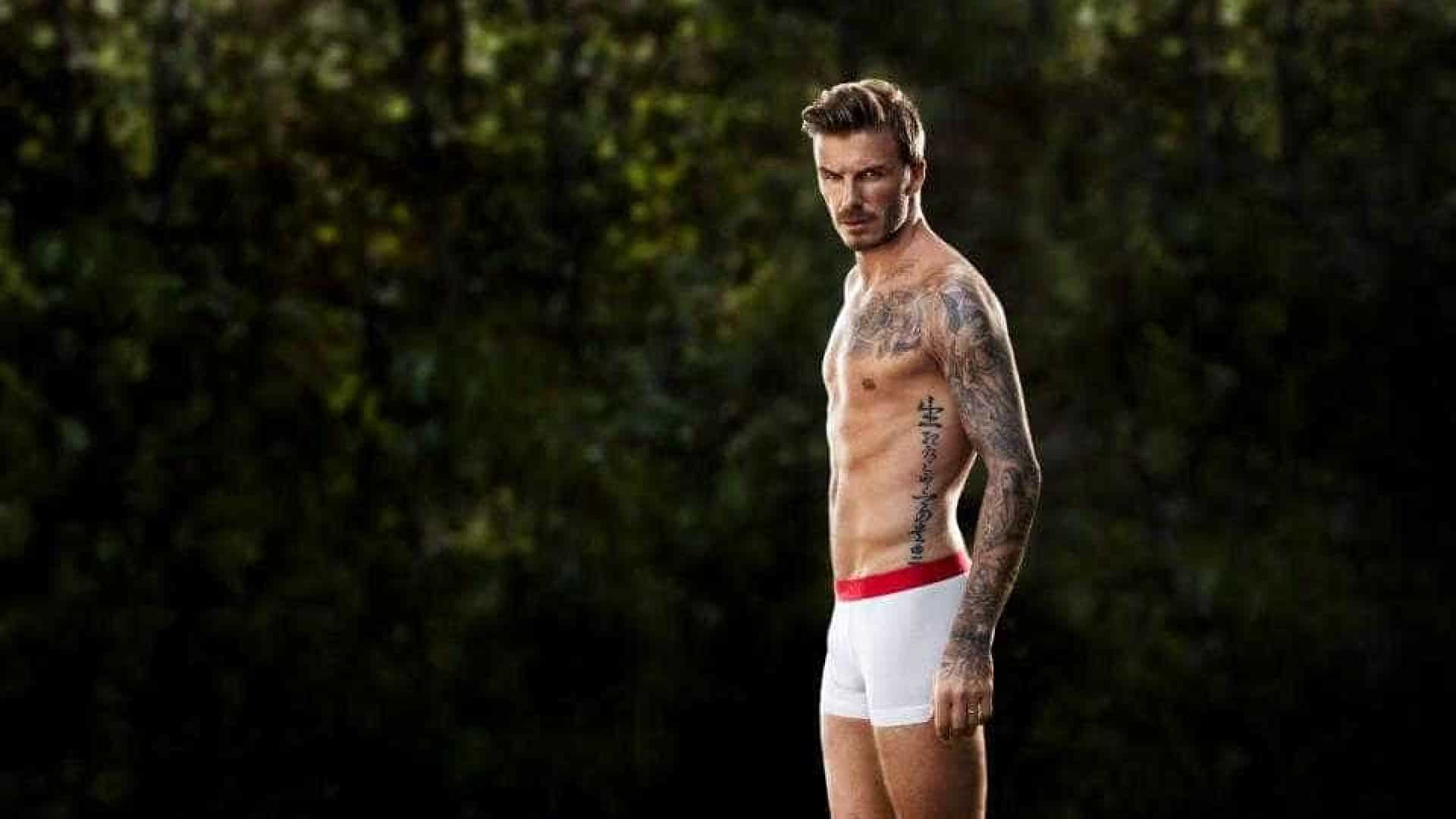 176c08068b72ac David Beckham é diferente das outras celebridades no ginásio