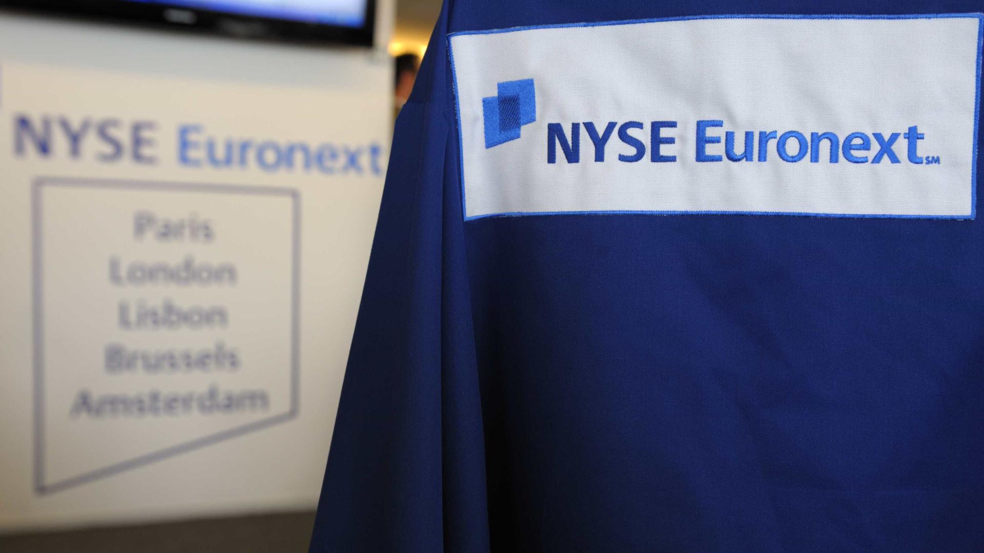 Lucros da Euronext baixam 9% no 1º. trimestre
