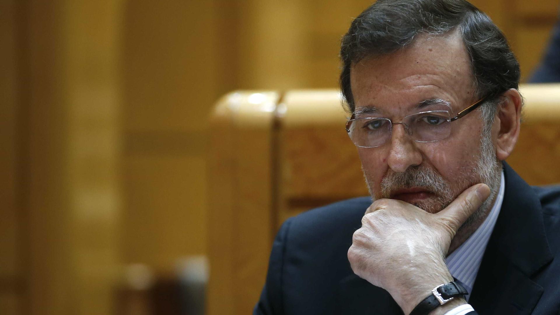 """Rajoy diz que vitória de Macron é mensagem de """"estabilidade e confiança"""""""