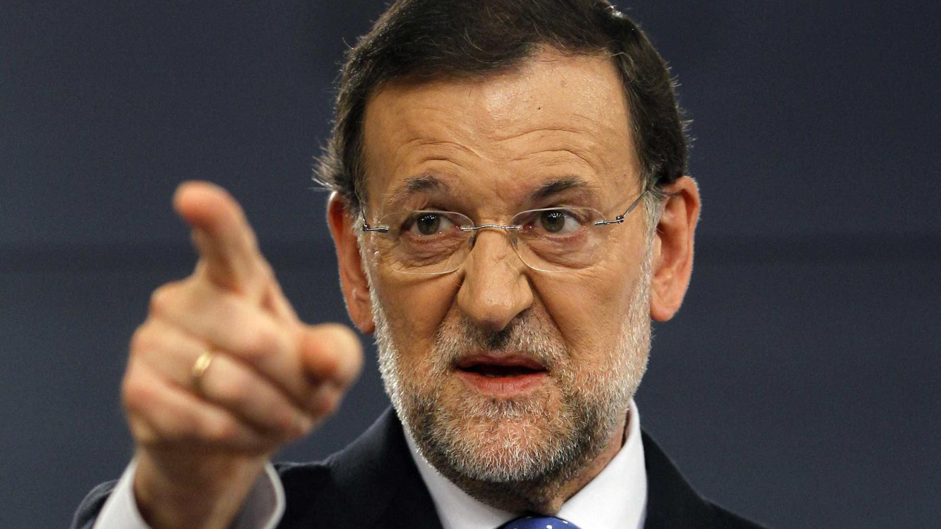 Rajoy promete trabalhar para independentistas perderem eleições