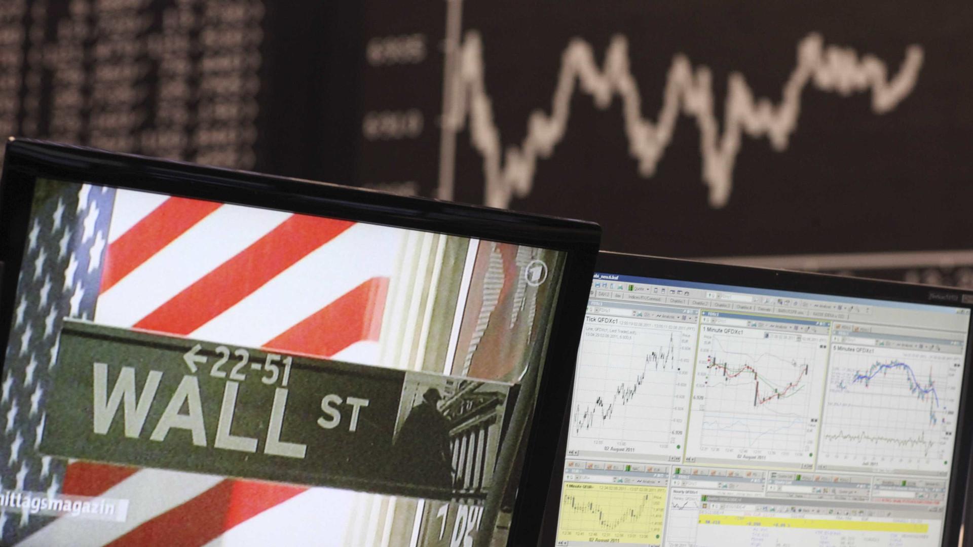 Wall Street segue em alta a recuperar da descida de terça-feira