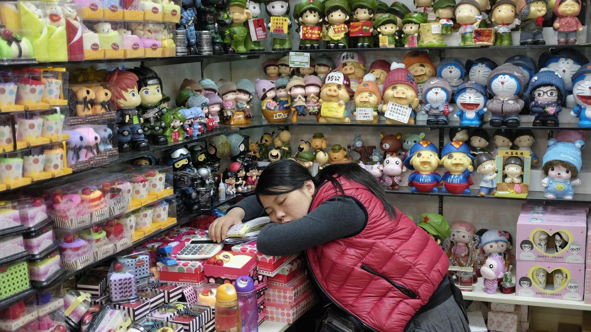 Salas de sesta para mulheres são nova moda no Japão
