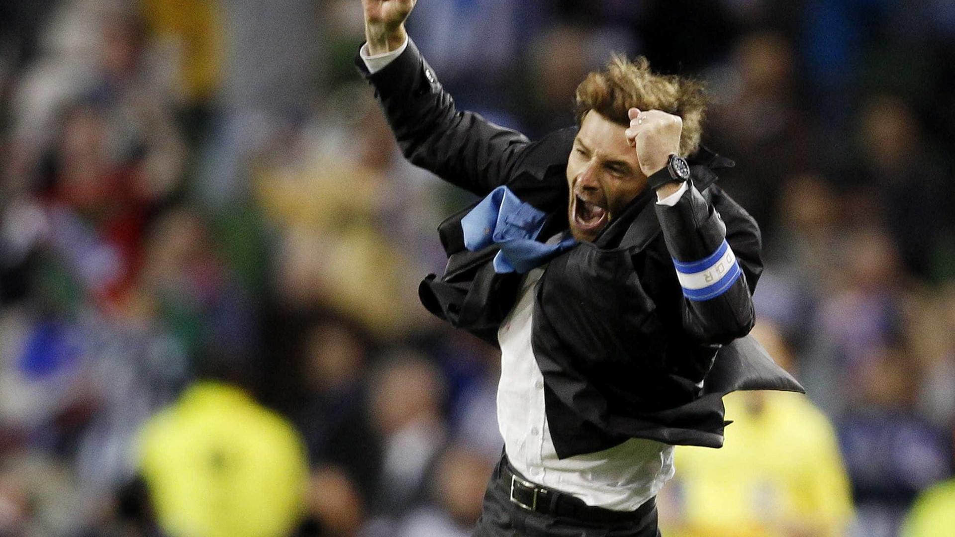 Villas-Boas favorito para assumir comando técnico do Wolfsburgo