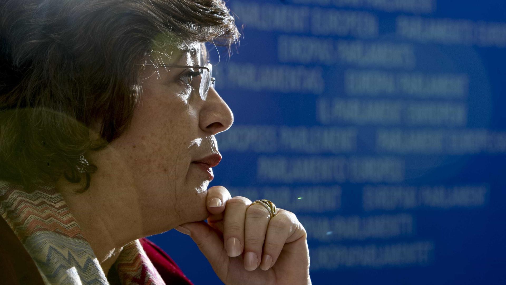 """""""Não votem Le Pen, seria trair os vossos pais e avós"""", pede Ana Gomes"""
