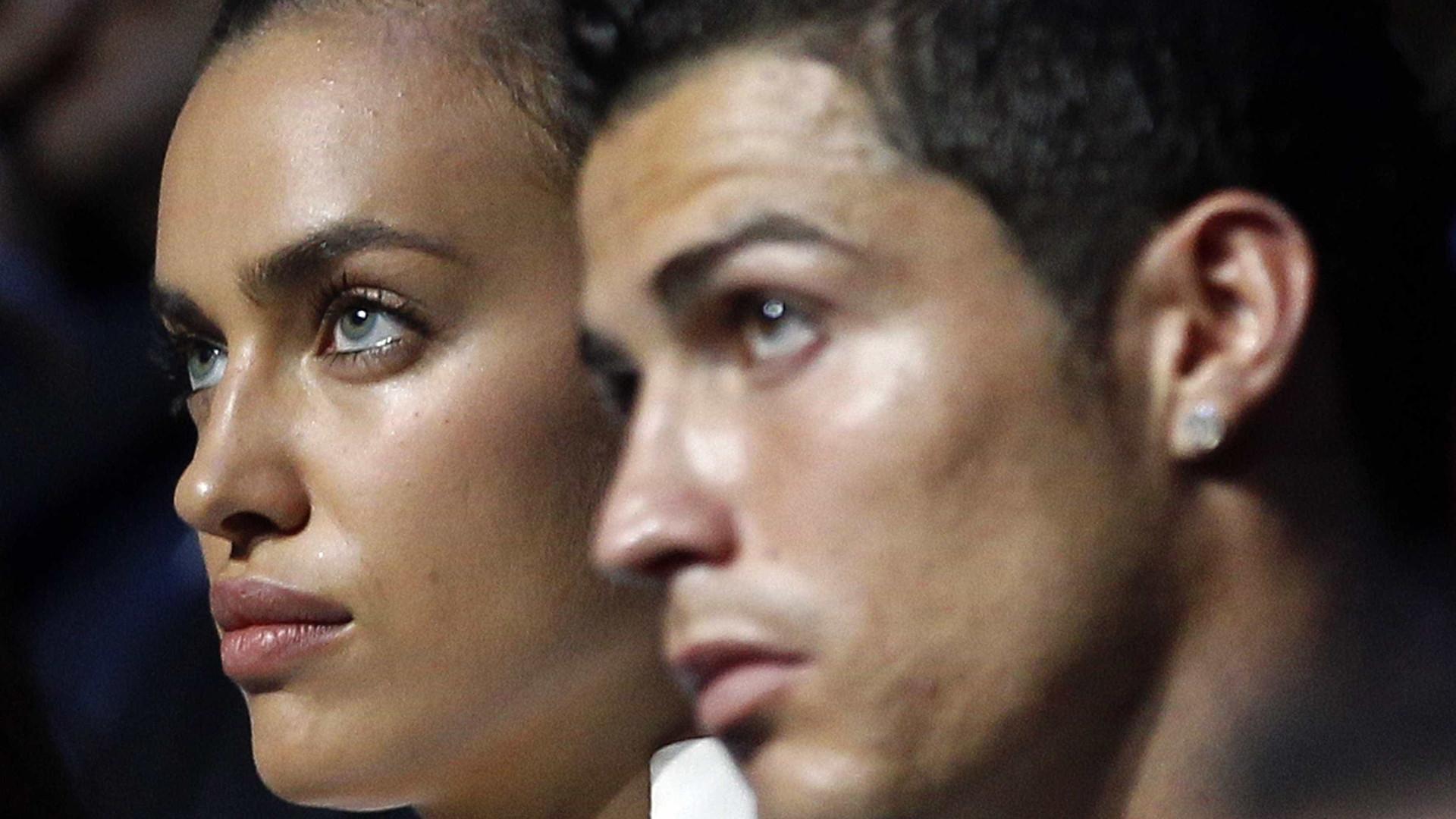 Cristiano Ronaldo disse aos amigos que ainda ama Irina Shayk
