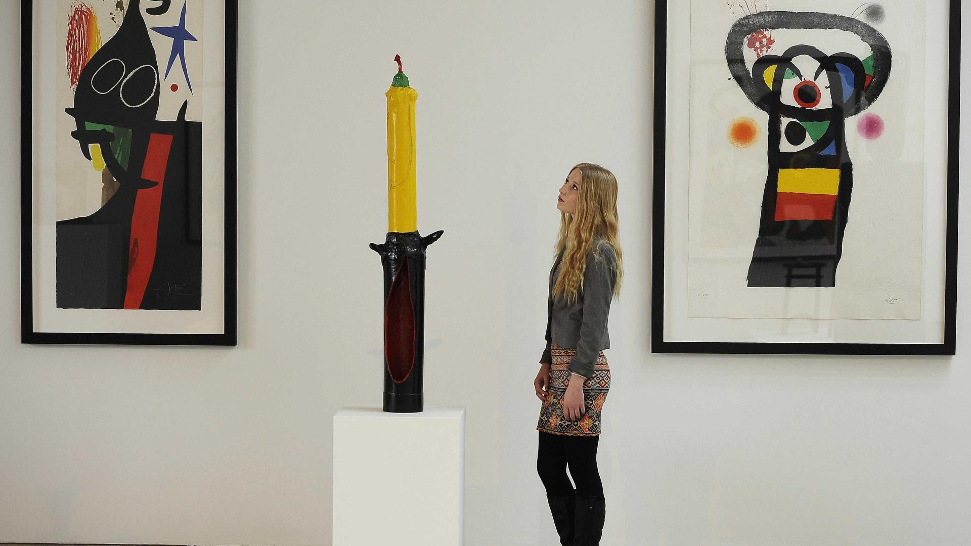 Leiloeira do Porto disponibiliza-se para comercializar obras de Miró