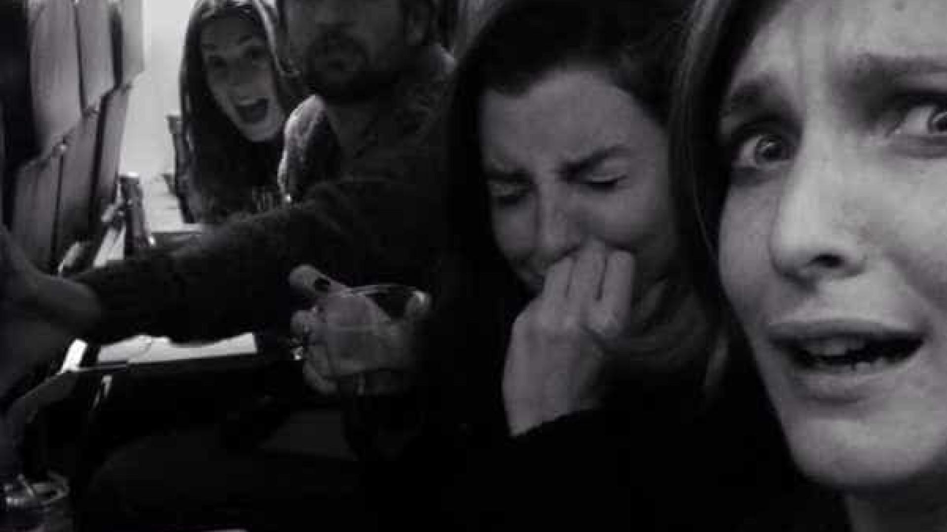 Tempestade Stephanie assusta atrizes no regresso a Lisboa