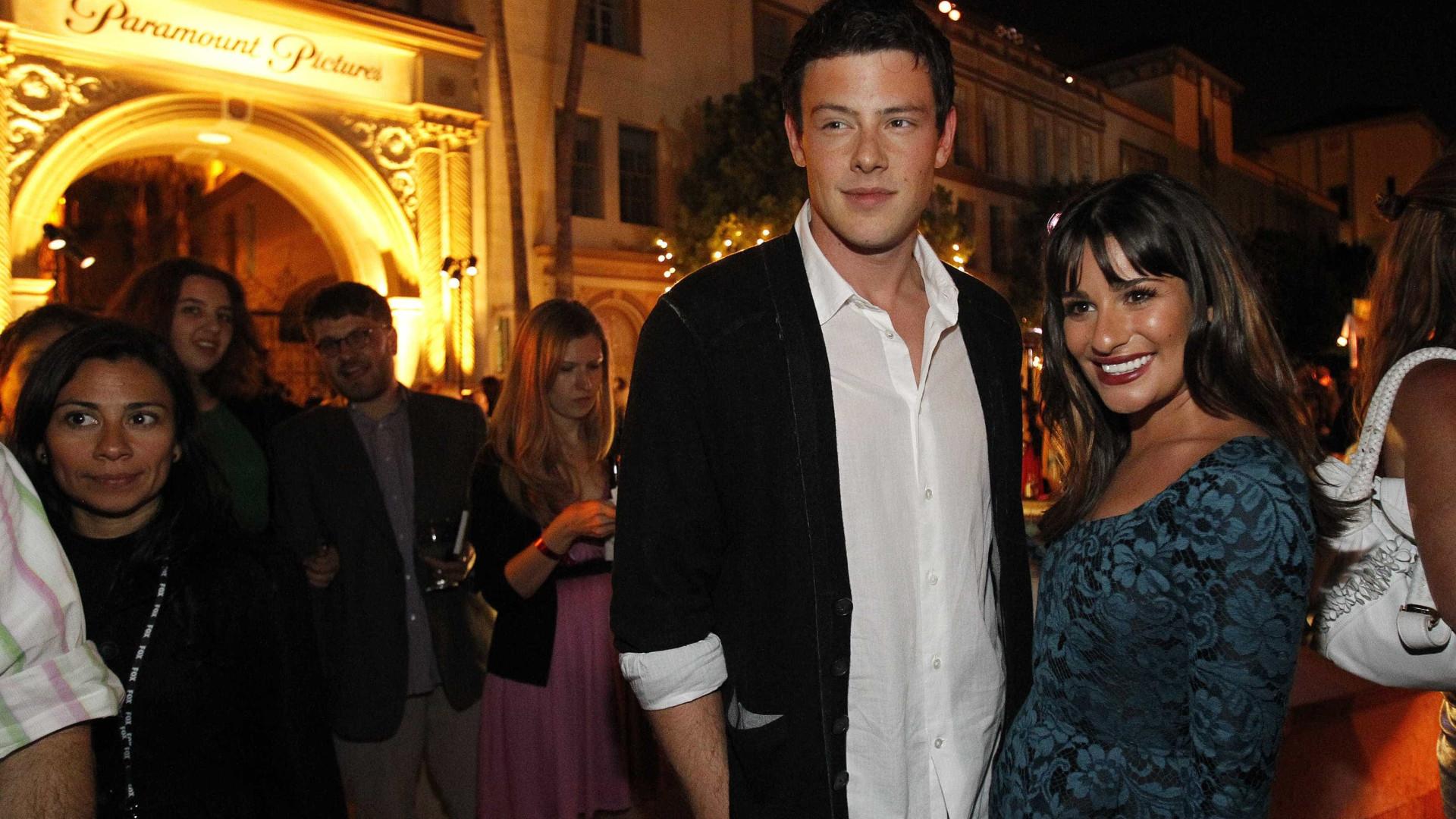 Lea Michele foi quem deu a notícia da morte Cory Monteith à mãe do ator