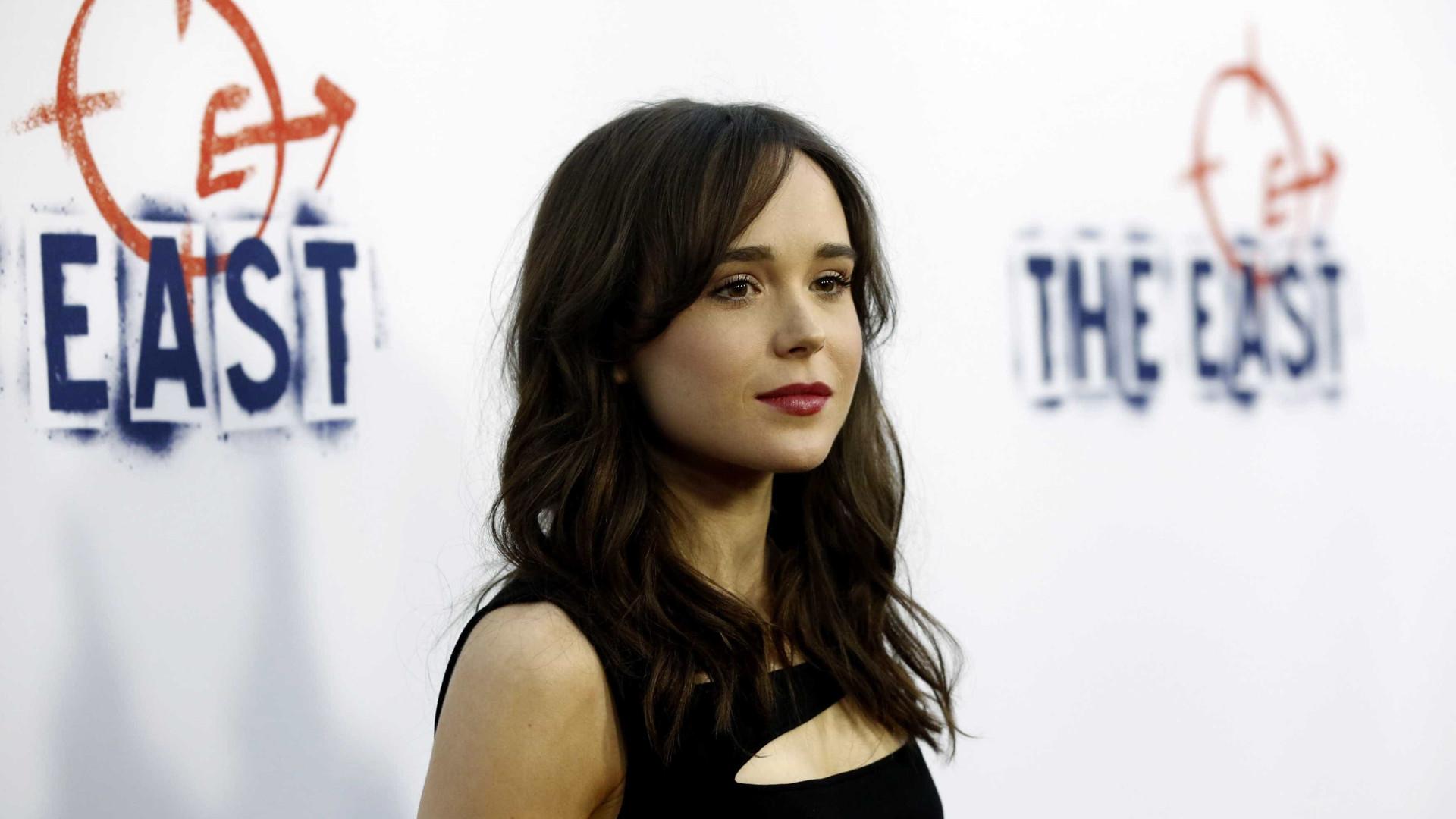 Ellen Page recebe ameaças de morte nas redes sociais