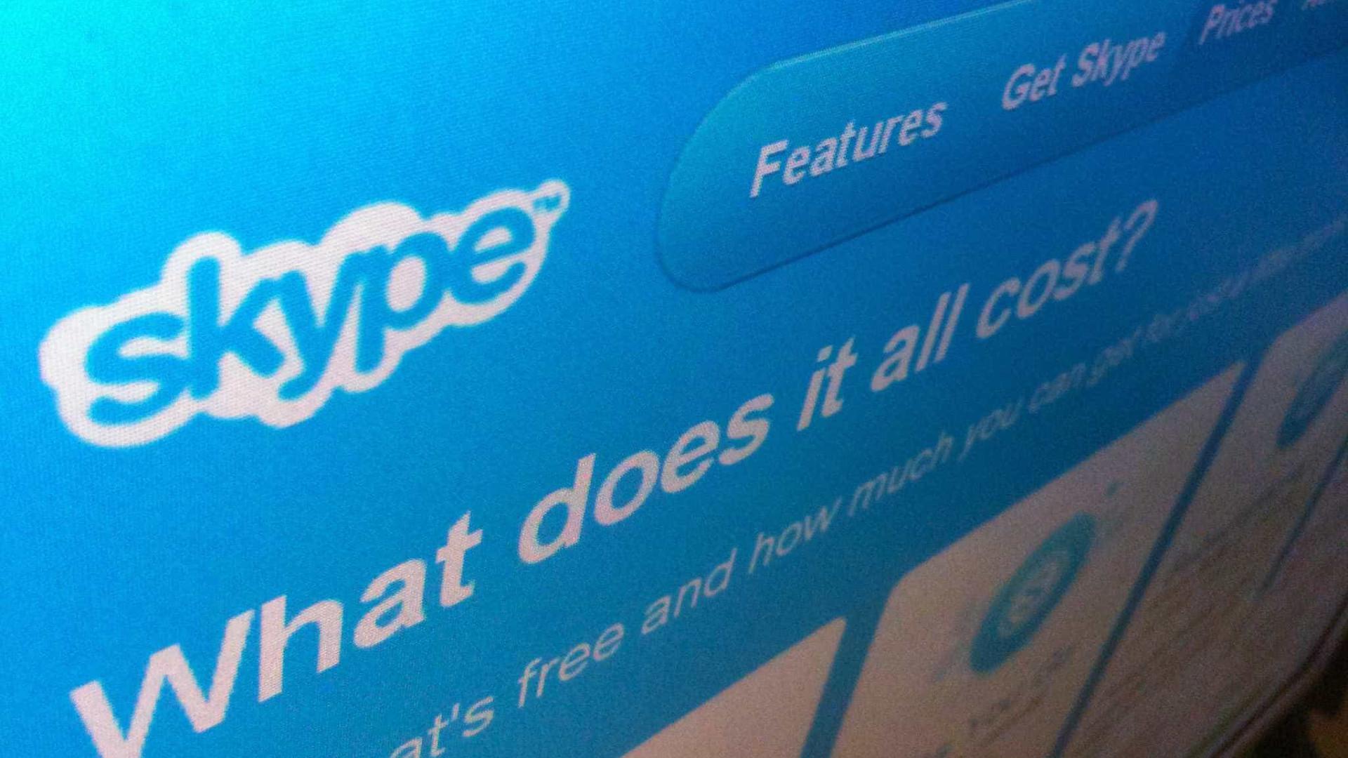 Skype supera WhatsApp e Telegram… pelos piores motivos