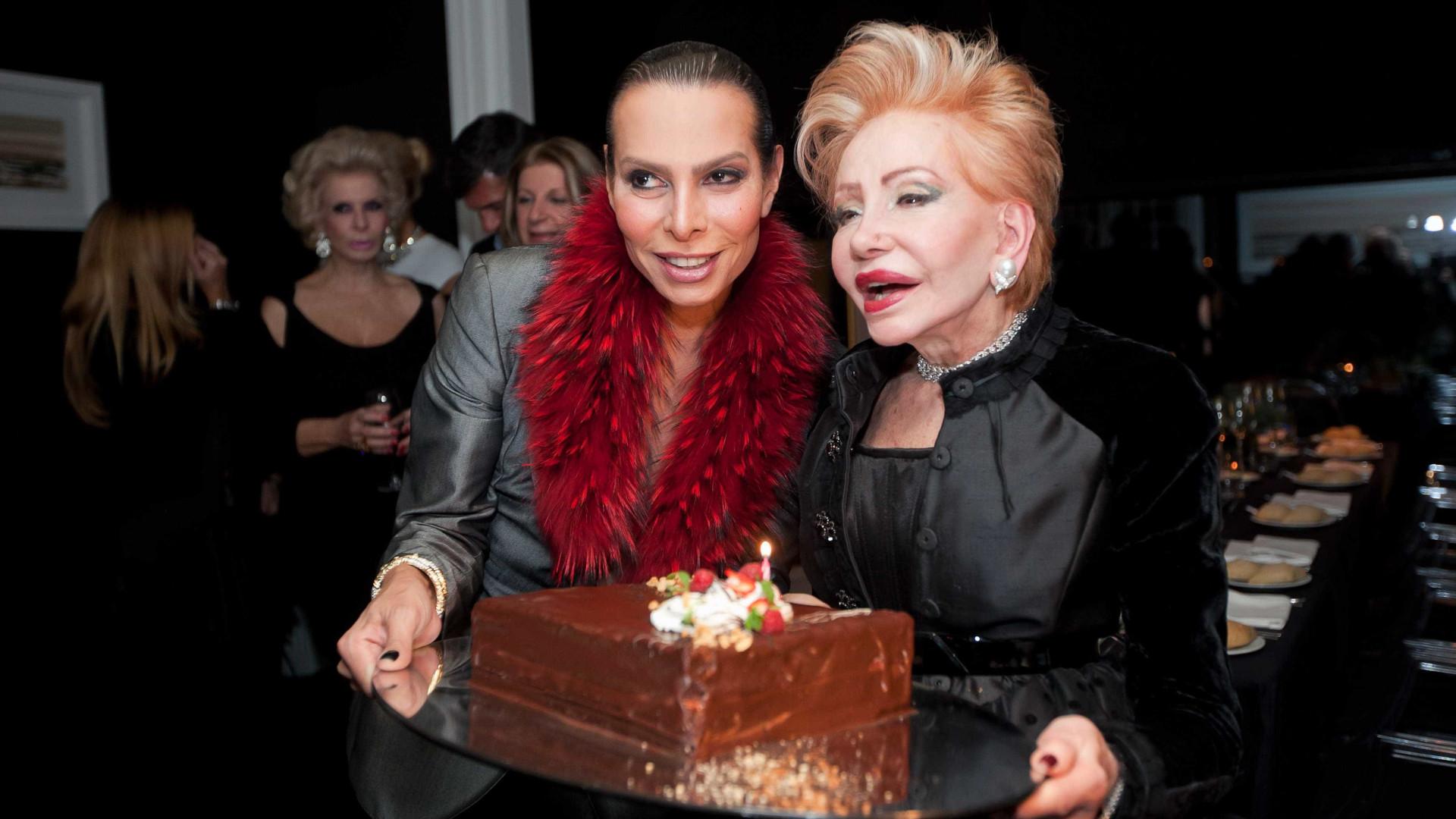Não faltaram pastéis de nata na festa de Betty Grafstein