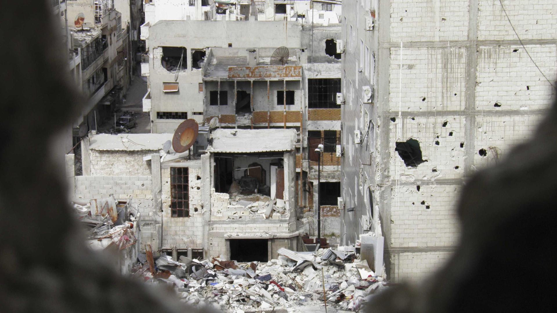 """Matança na Síria continua """"sem vergonha, decência ou responsabilidade"""""""