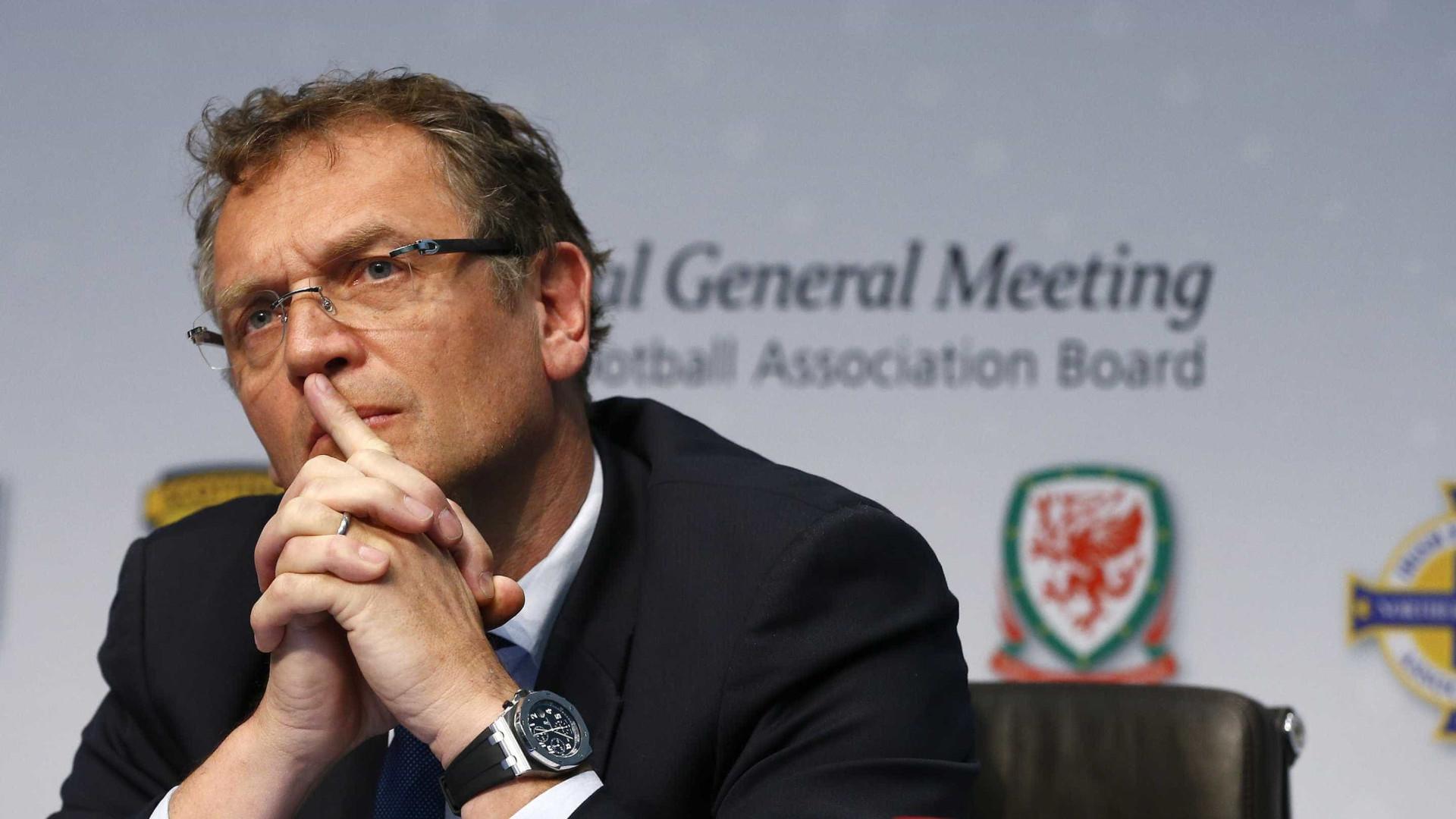 Jérôme Valcke nega ter recebido subornos do presidente do PSG