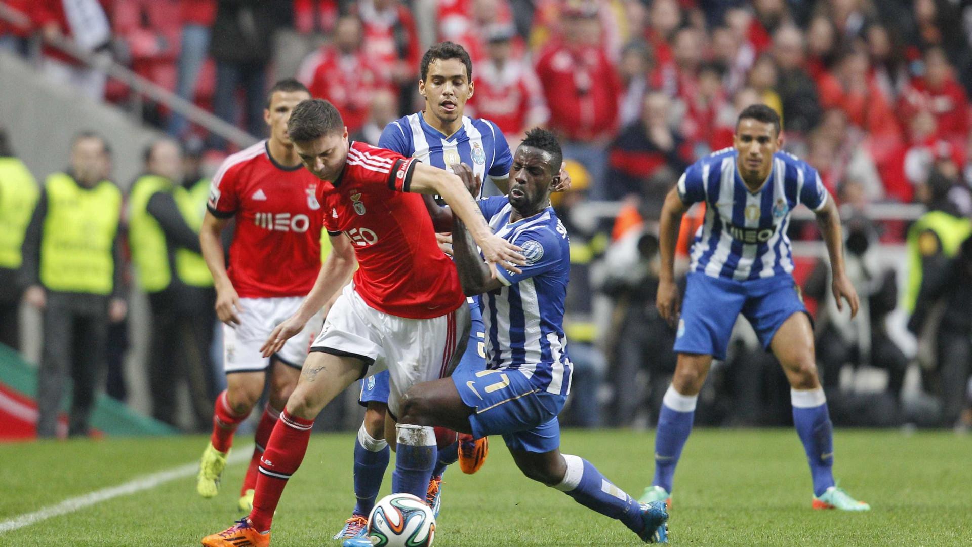 FC Porto - Benfica agendado para 26 de março