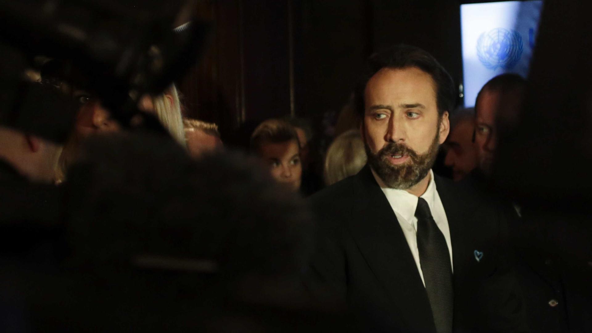 Nicolas Cage inaugura festival em Macau e destaca relação Portugal/China