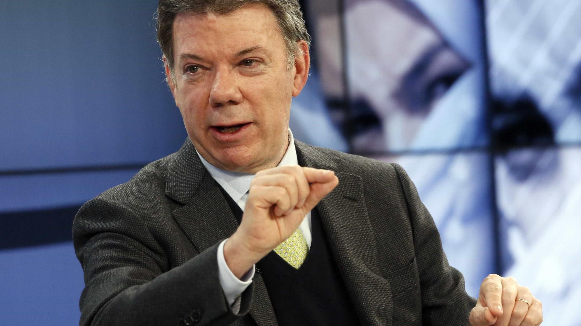 Presidente da Colômbia cancela visita a Portugal