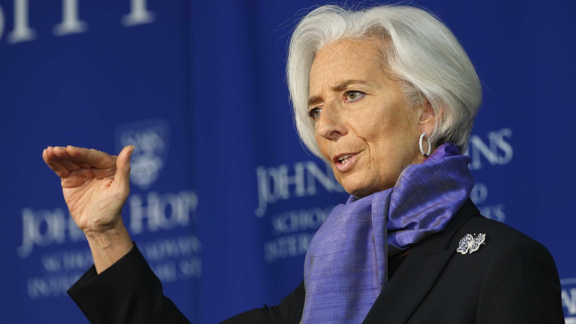 """Diretora do FMI """"horrorizada"""" com desaparecimento de jornalista saudita"""