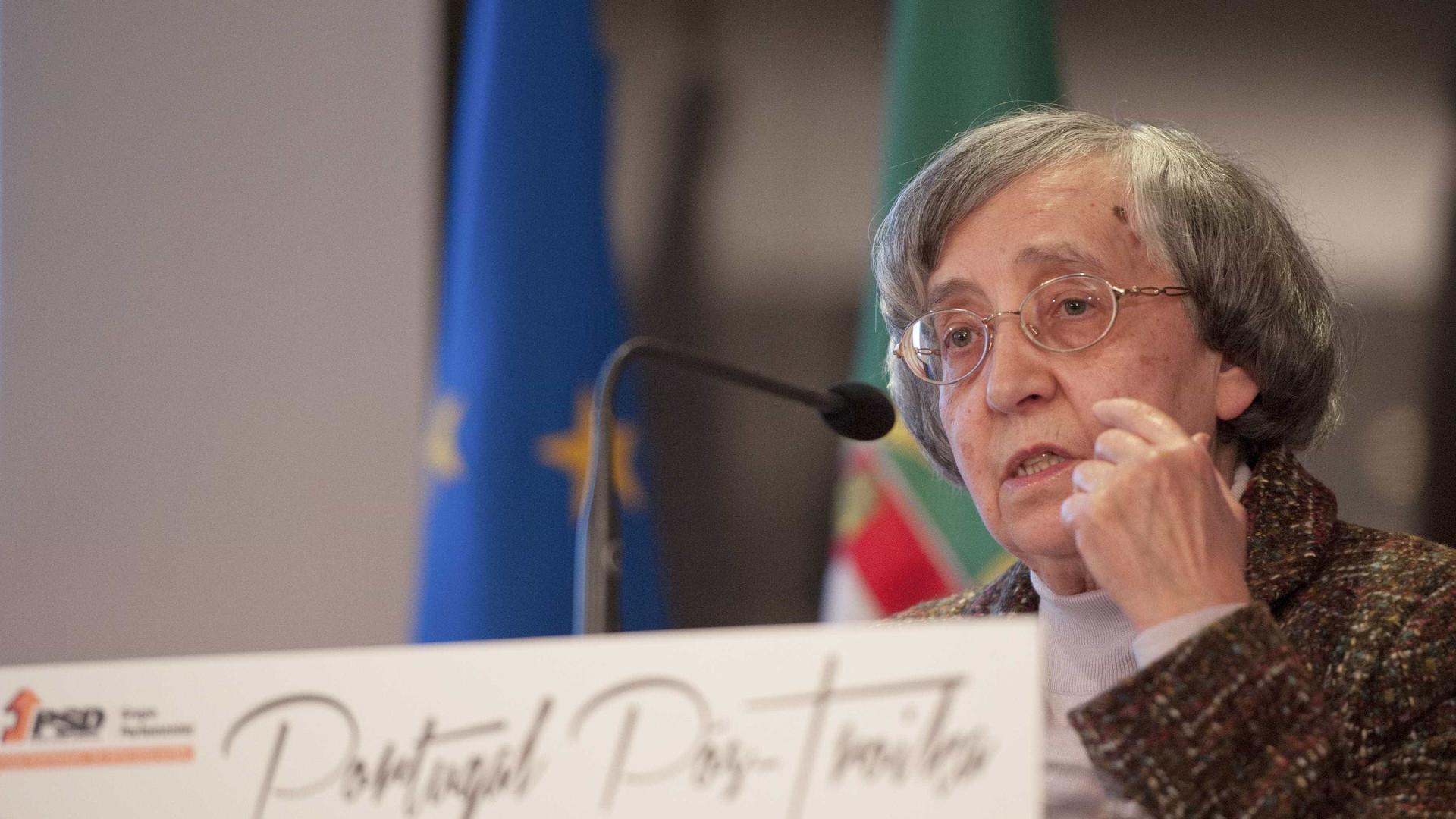 "Teodora Cardoso alerta para ""orçamentos eleitoralistas"""