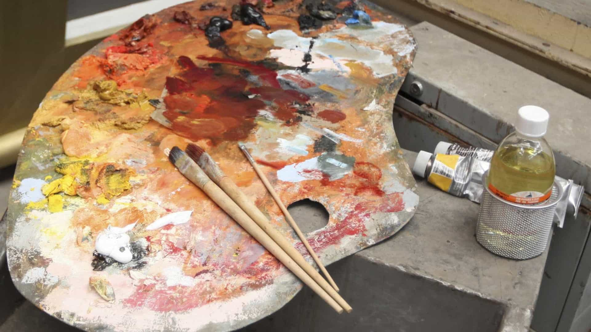 Mário Tropa mostra um percurso coerente de 50 anos de pintura