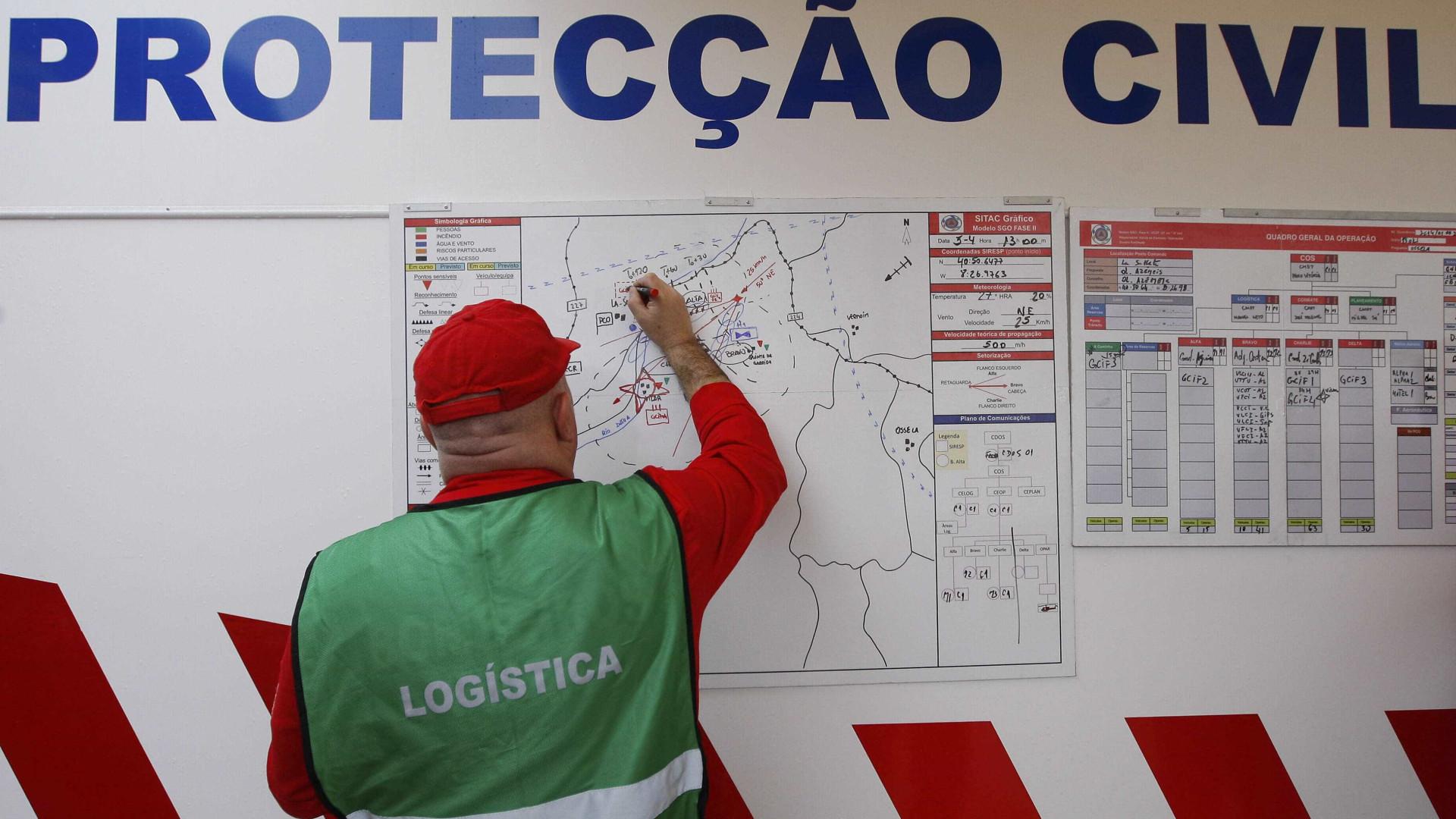 Mais de 100 pessoas asseguram logística em Pedrógão Grande