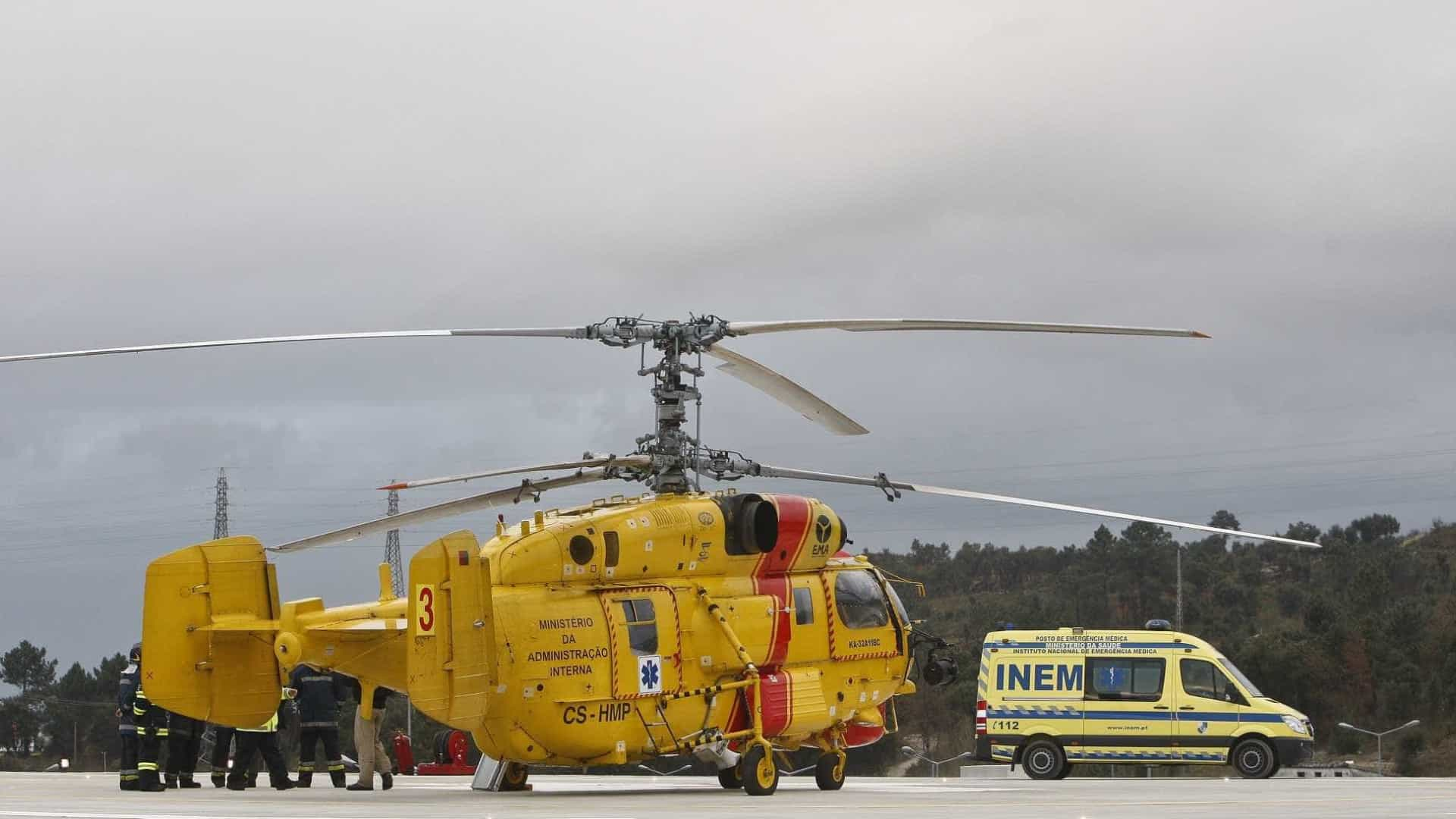 Despiste de viatura militar faz nove feridos em Vendas Novas