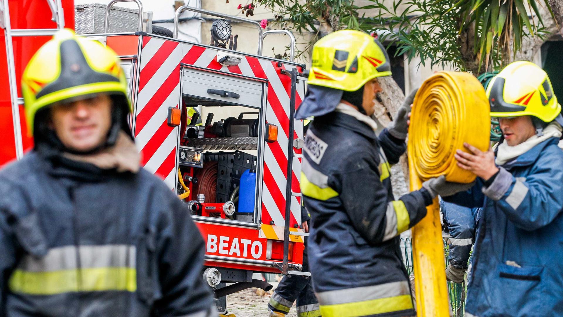 95% das corporações do distrito de Lisboa deixaram de informar CDOS