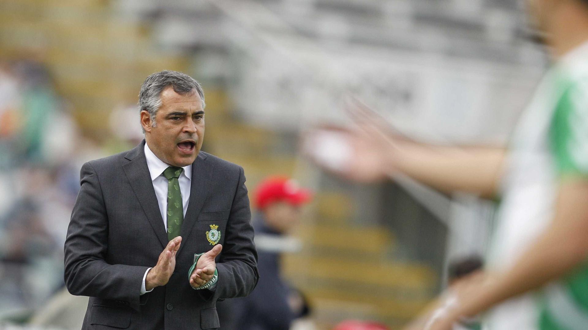 """Couceiro quer """"melhorar capacidade concretizadora"""" para vencer Estoril"""