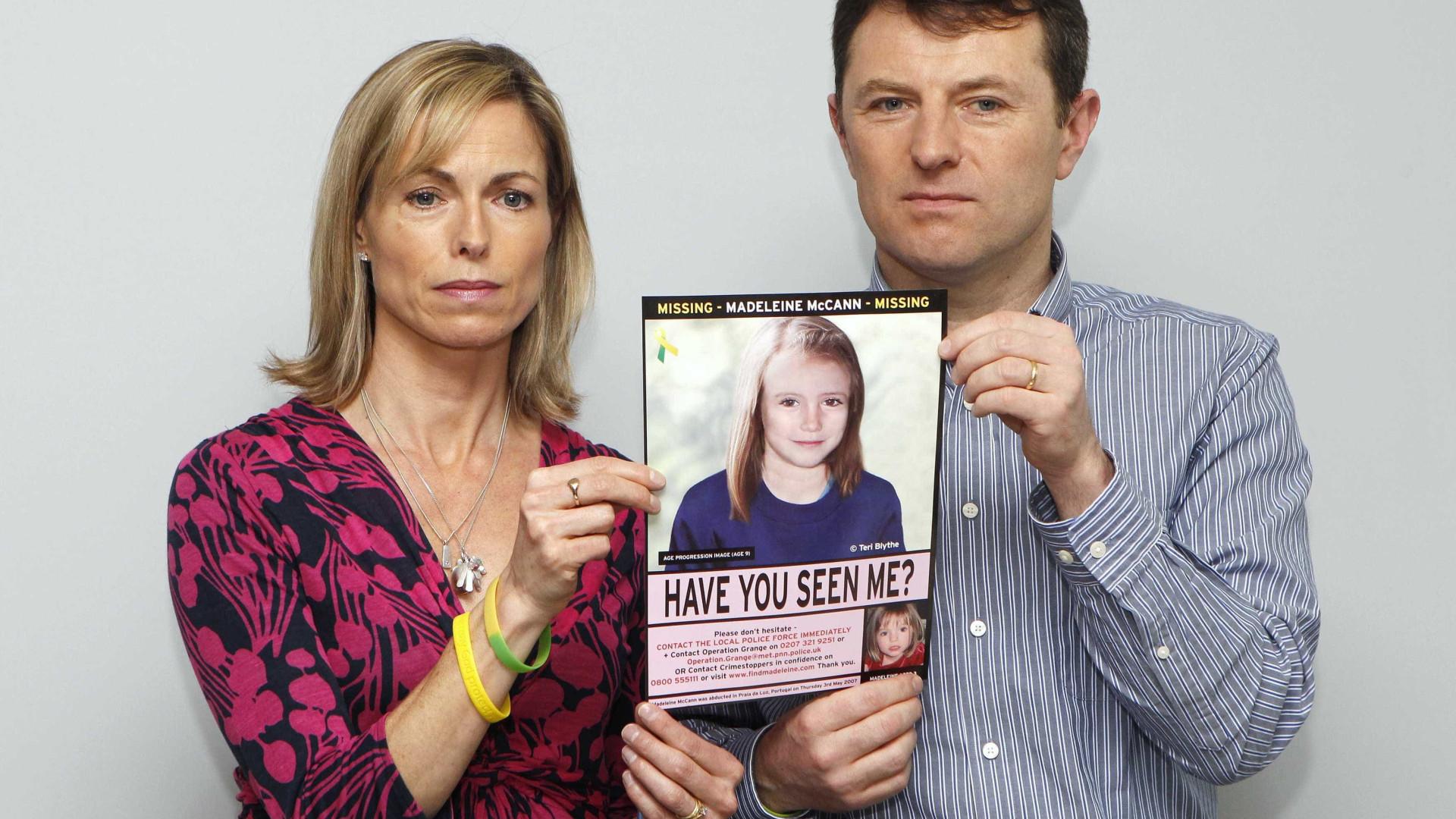 Milhares subscrevem petição britânica a acusar McCann de negligência