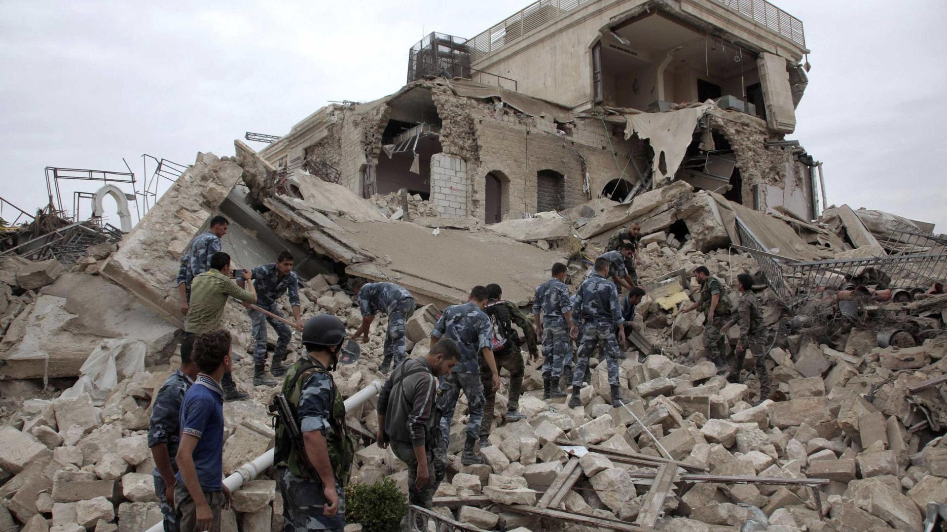 Rússia acusa aviação belga de ter matado seis civis perto de Alepo